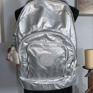 Kipling Harper Silver Back Pack